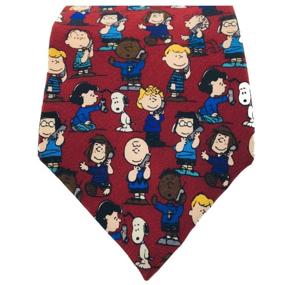 Peanuts Other - PEANUTS SNOOPY My People Will Call Your People Tie